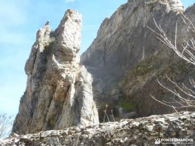 Río Salado-Salinas Imón-El Atance;pantano peñarroya trekking mochilas caurel puerto de cotos madr